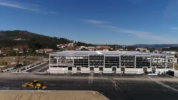 Thumbnail for Facade of Supermarket Construction