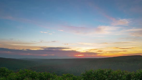 Thumbnail for Time lapse: dramatic sky landscape at Banlung, Ratanakiri, East Cambodia