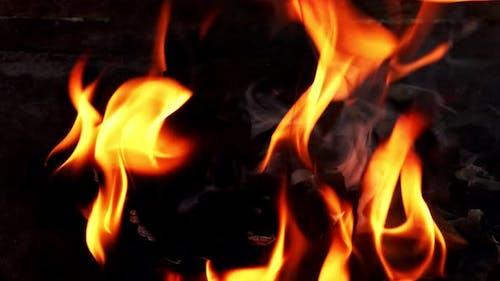 Coal Fire Burning 1