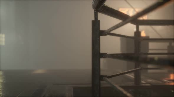 Thumbnail for Rainy Night with Fog at Old Town Street