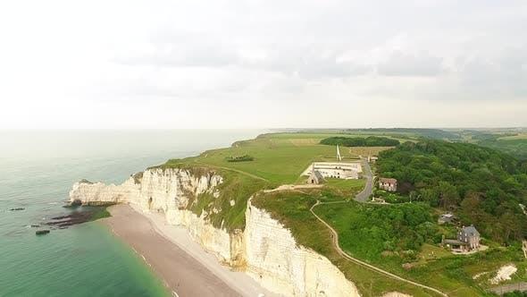 Thumbnail for Etretat and Normandy coastal line.France