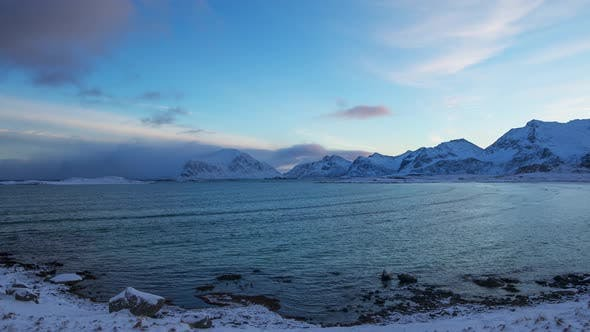 Thumbnail for Rapid Deterioration of the Weather at Dawn on the Lofoten