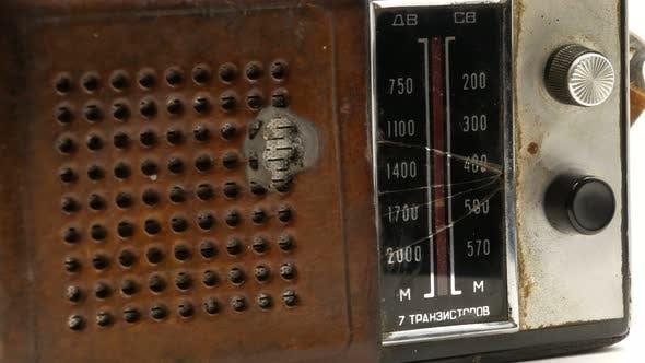 Thumbnail for Old Soviet Vintage Radio Receiver