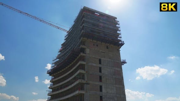 Cover Image for Skyscraper Building Construction