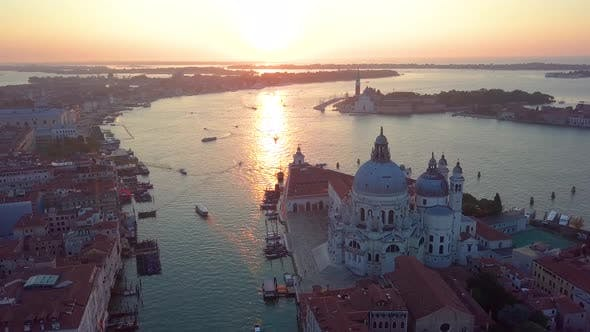 Cover Image for Aerial View Italy Venice
