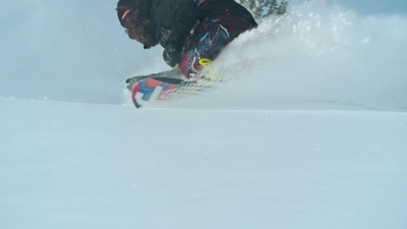 Thumbnail for Skilled Backcountry Rider