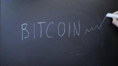 Bitcoin on blackboard