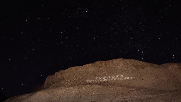 Thumbnail for Milky Way over a Hill in the Altiplano Region.
