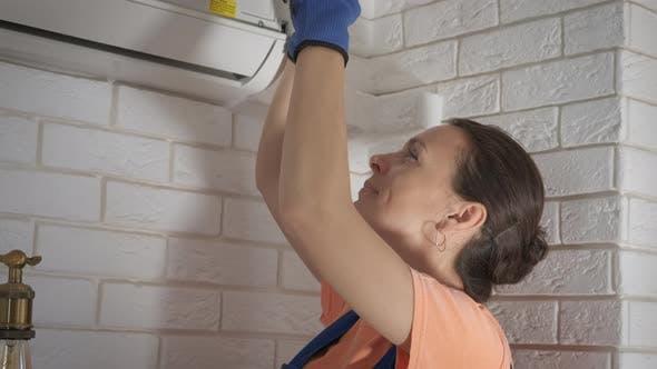 Wartung von Klimaanlagen