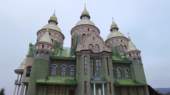 Thumbnail for Beautiful Church in Bruchovychi Ukraine