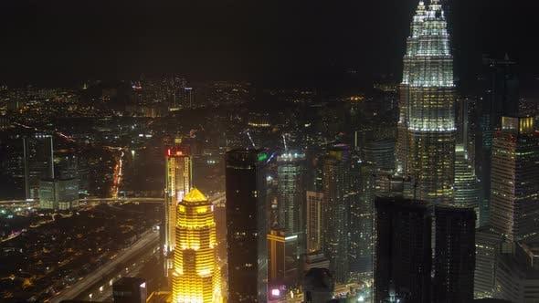 Thumbnail for Night Skyline of Kuala Lumpur