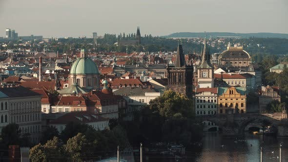 Thumbnail for Prague Early Morning View