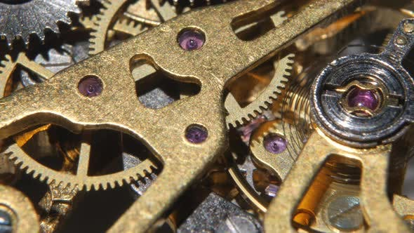 Thumbnail for Mechanical Watch. Close Up
