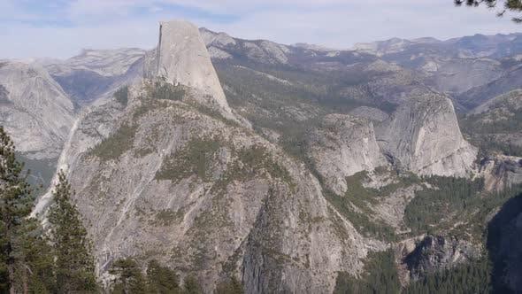4K-Panoramablick auf den Yosemite-Nationalpark, Kalifornien, USA