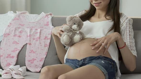 schwangerschaft foto bauch teen