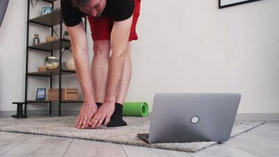 Male Health Care Morning Exercise Online Training