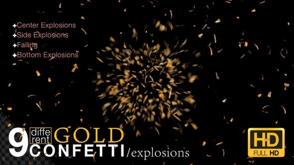 Thumbnail for Gold Confetti