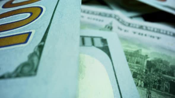 Thumbnail for Amerikanische Dollar Bargeld. Rückseite der Papier-Banknoten der US-Währung.