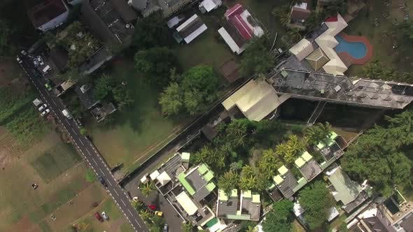 Thumbnail for Flying Over Residential Area Mauritius Island
