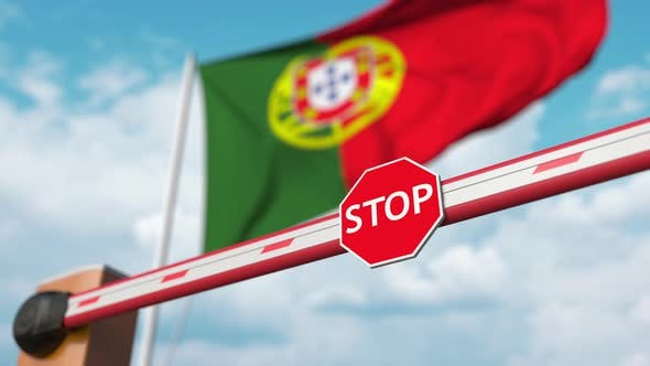Thumbnail for Open Boom Gate at the Portuguese Flag