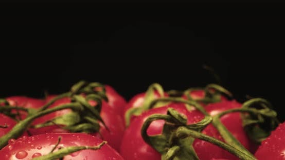 Thumbnail for Fresh coktail tomatoes super close up