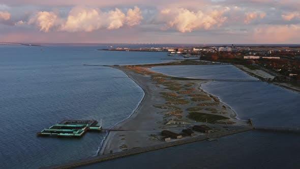 Thumbnail for Drone Flight Over Amager Strandpark