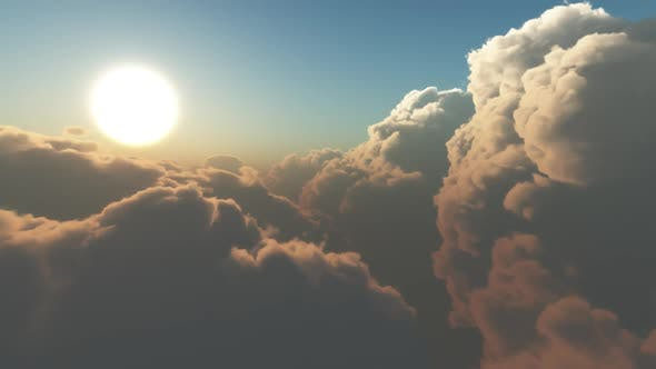 Earth View Above The Cloud 02 HD