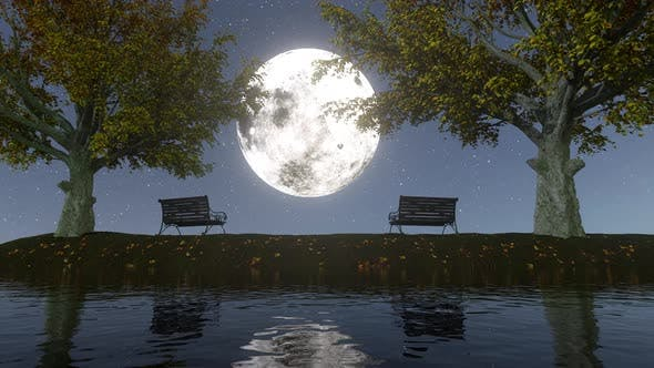 Thumbnail for Moonlight Landscape