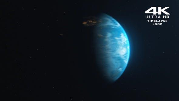 Thumbnail for Earth Timelapse 4K