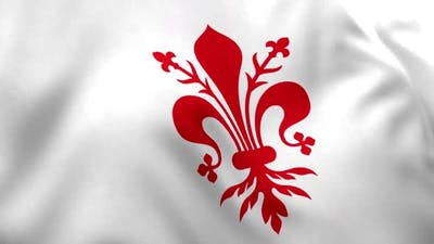 Florence City Flag (Italy)