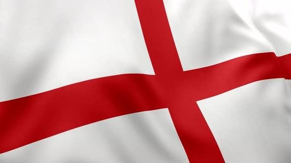 England Flag - 4K