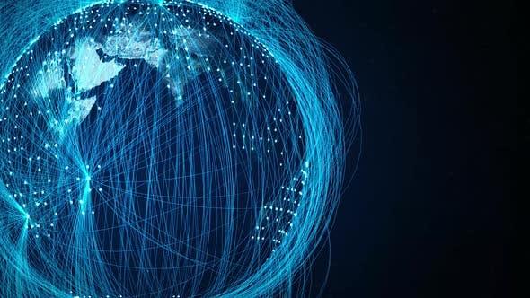 Thumbnail for Global World Network Blue 4K