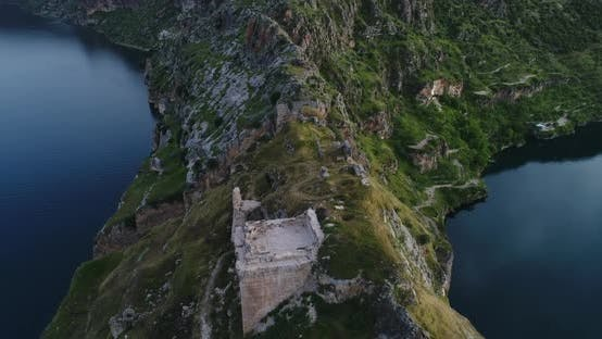 Thumbnail for River And Ruined City Aerial View