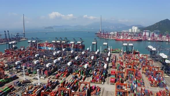 Thumbnail for Kwai Tsing Container Terminals in Hong Kong