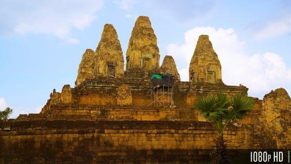 Pre Rup Hindu Temple in Angkor, Cambodia