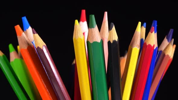 Thumbnail for School Equipment Colorful  Pencils