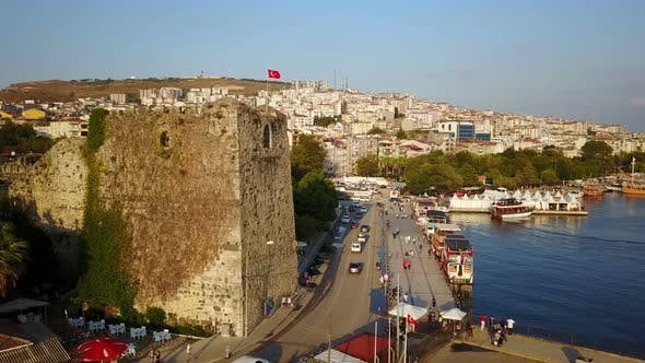 Thumbnail for Sinop City Coastal Port on Black Sea North Anatolia, Turkey