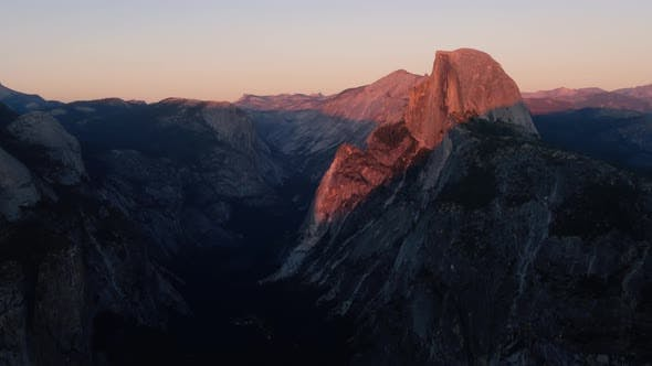 Thumbnail for Red Sunset In Yosemite