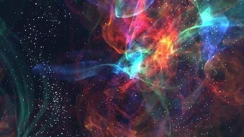 Nebula milky space stars galaxy