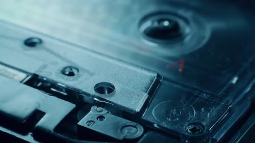 Audio Cassette Is Playing