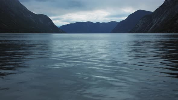 Thumbnail for Mountains in Fjord