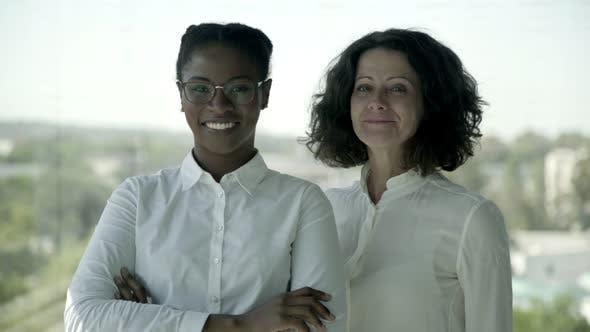 Cheerful Multiethnic Businesswomen