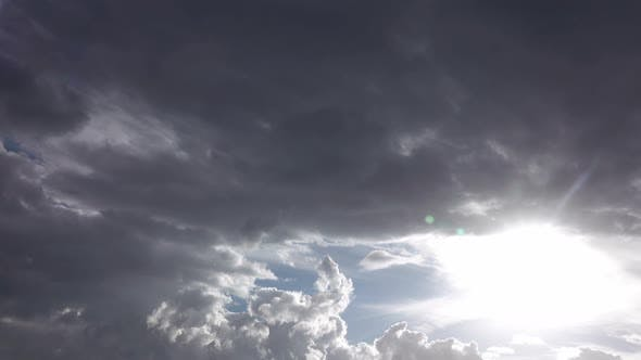 Thumbnail for Gray Clouds On Overcast Sky