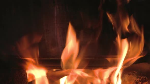 Thumbnail for Fire Flames Metal Background