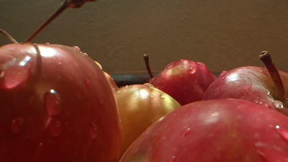 Red Juicy And Healthy Fruit Apple 1