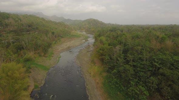 Thumbnail for Tropical Landscape River, Farmers Land