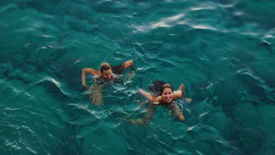 Thumbnail for Swimming in the Ocean