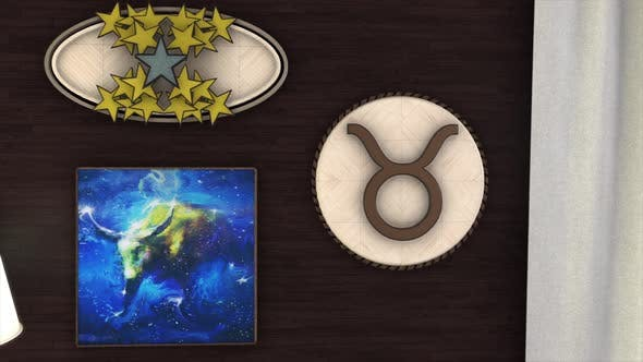 Thumbnail for Zodiac sign Taurus in interior