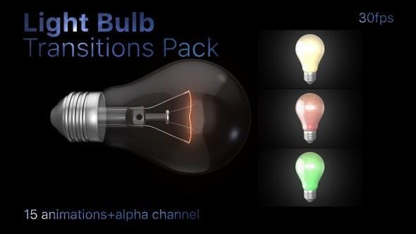Light Bulb Transitions Pack