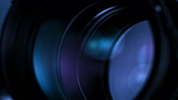 Thumbnail for Kameraobjektiv und Blades schließen